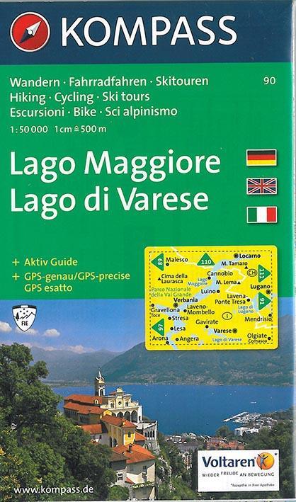 Lago maggiore ; lago di varese