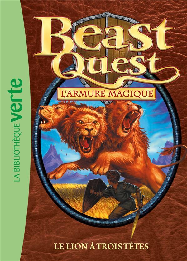 Beast Quest T.14 ; le lion à trois têtes