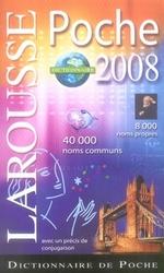 Couverture de Larousse de poche (édition 2008)