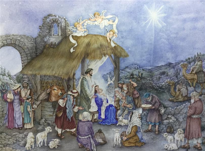 Calendrier de l'avent l'espoir de Noël - campinoti