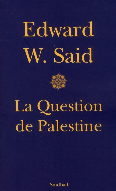 La question de palestine