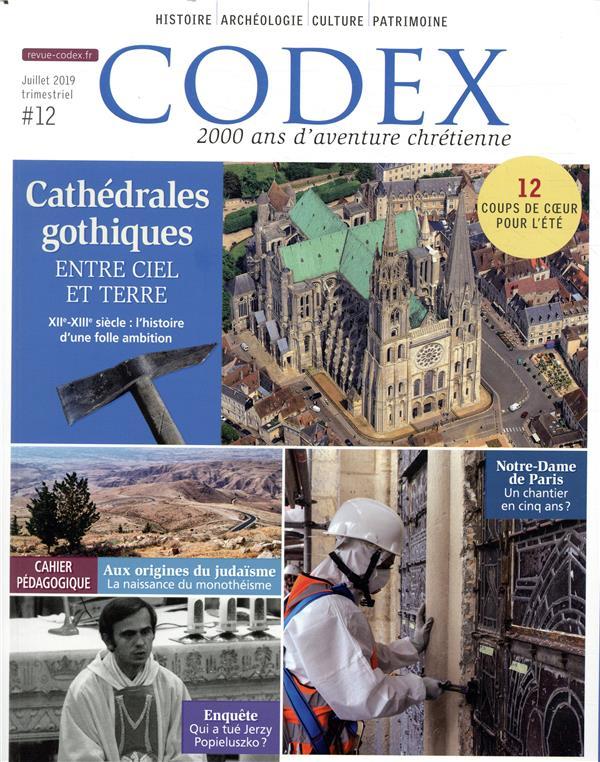 Codex n.12 ; l'aventure des cathedrales