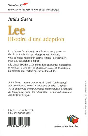 Lee, histoire d une adoption
