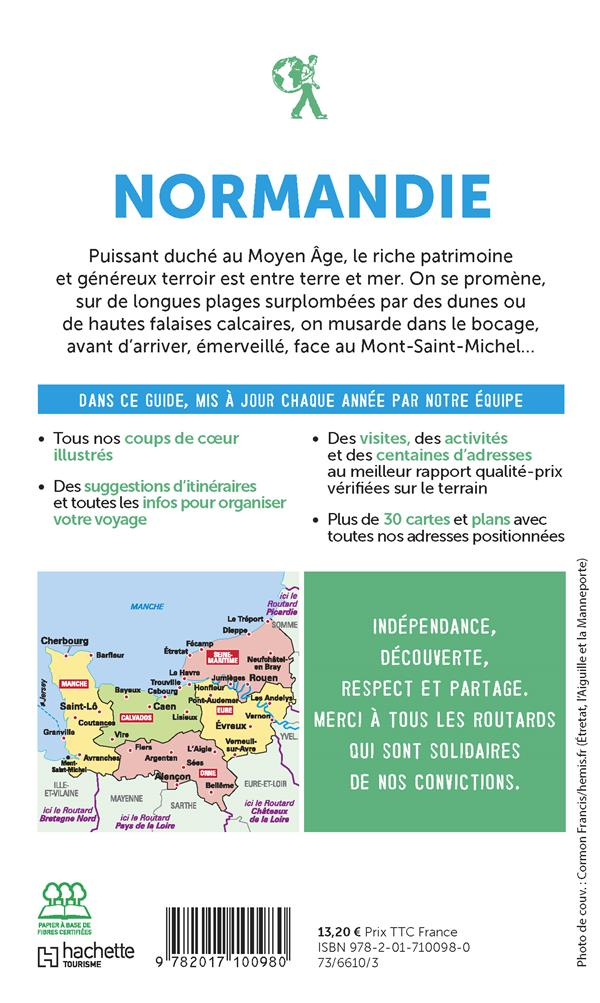 Guide du Routard ; Normandie (édition 2020/2021)