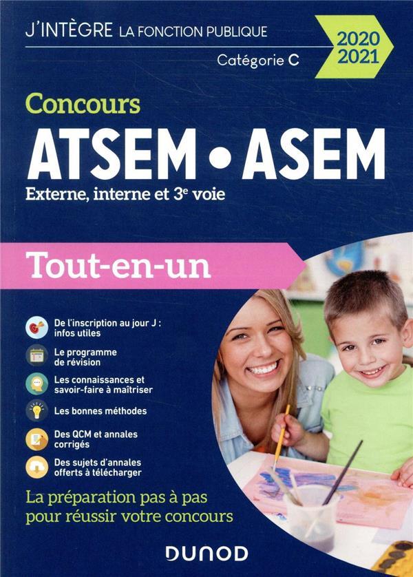 CONCOURS ATSEMASEM  -  EXTERNE, INTERNE ET 3E VOIE  -  CATEGORIE C  -  TOUT-EN-UN (EDITION 20202021) PELLETIER, CORINNE