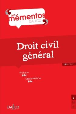 Droit Civil General (19e Edition)