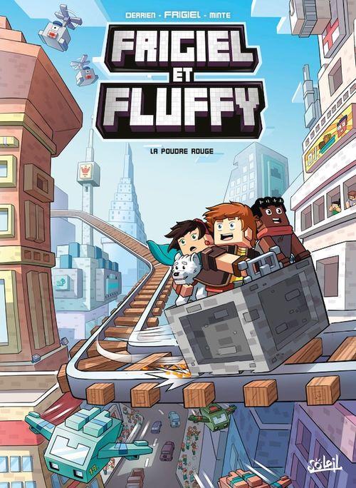 Frigiel et Fluffy T.7 ; la poudre rouge