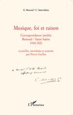 Vente Livre Numérique : Musique, foi et raison  - Camille Saint-Saens - Gabriel Renoud