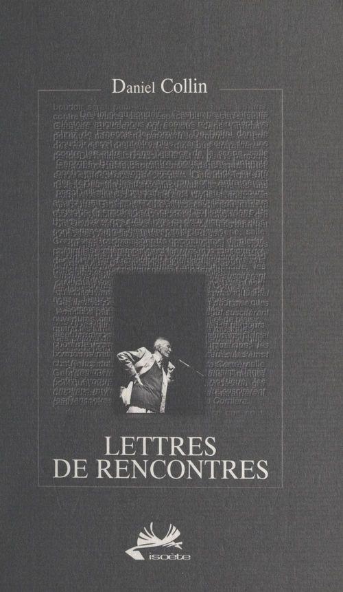 Lettres de rencontres
