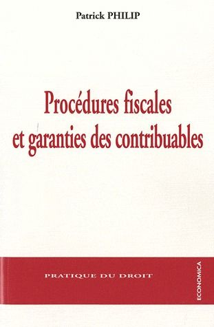 Procedures Fiscales Et Garanties Des Contribuables