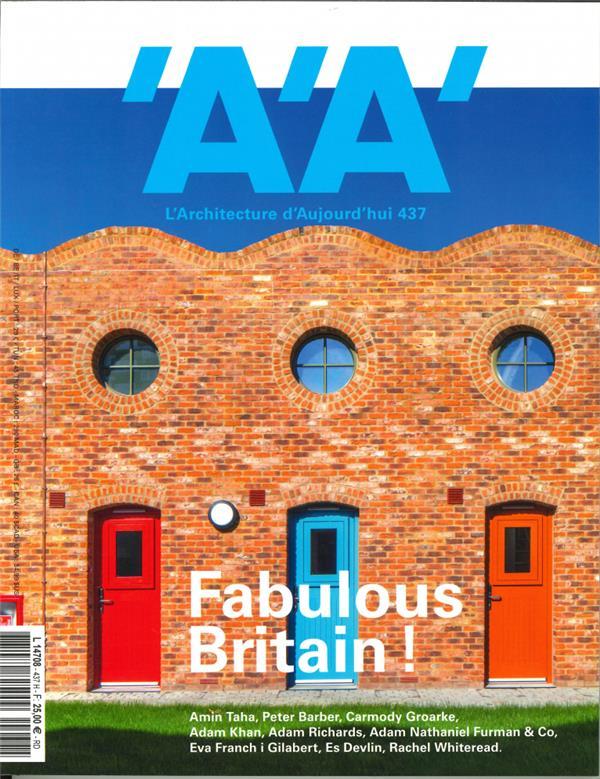 L'architecture d'aujourd'hui n  437 fabulous britain ! - juillet 2020