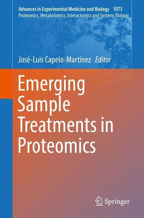 Emerging Sample Treatments in Proteomics