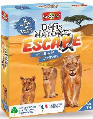 Défis nature ; escape ; mission survie