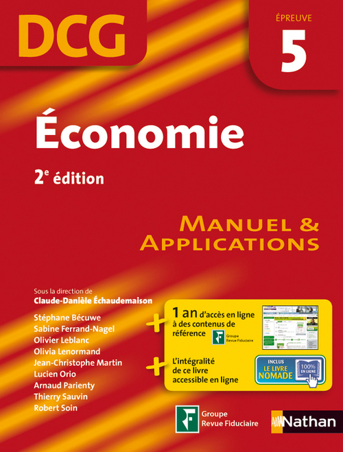 économie ; épreuve 5 ; DCG ; élève 2012