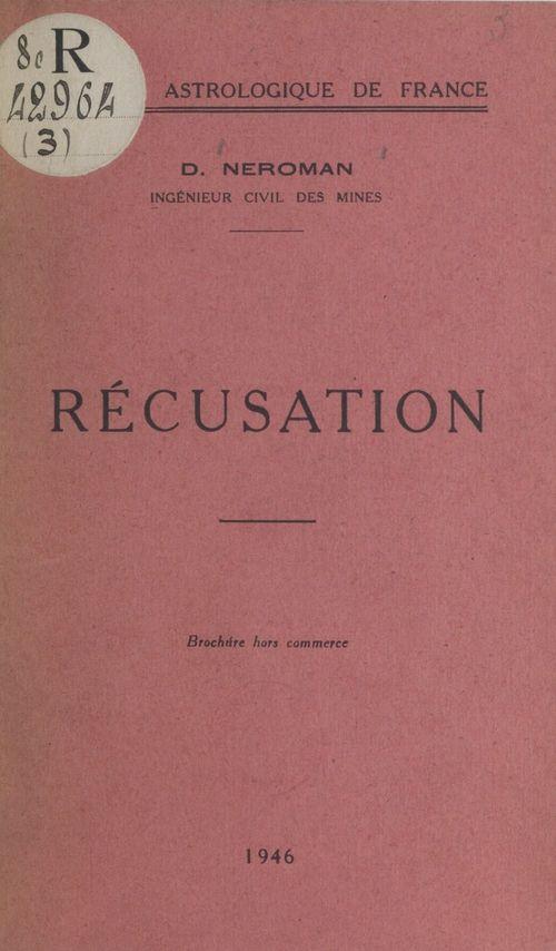 Récusation