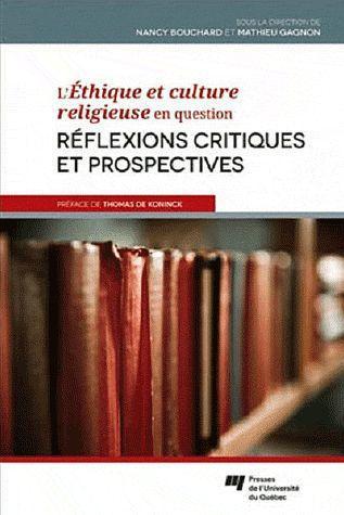 L'éthique et culture religieuse en question ; réflexions critiques et prospectives