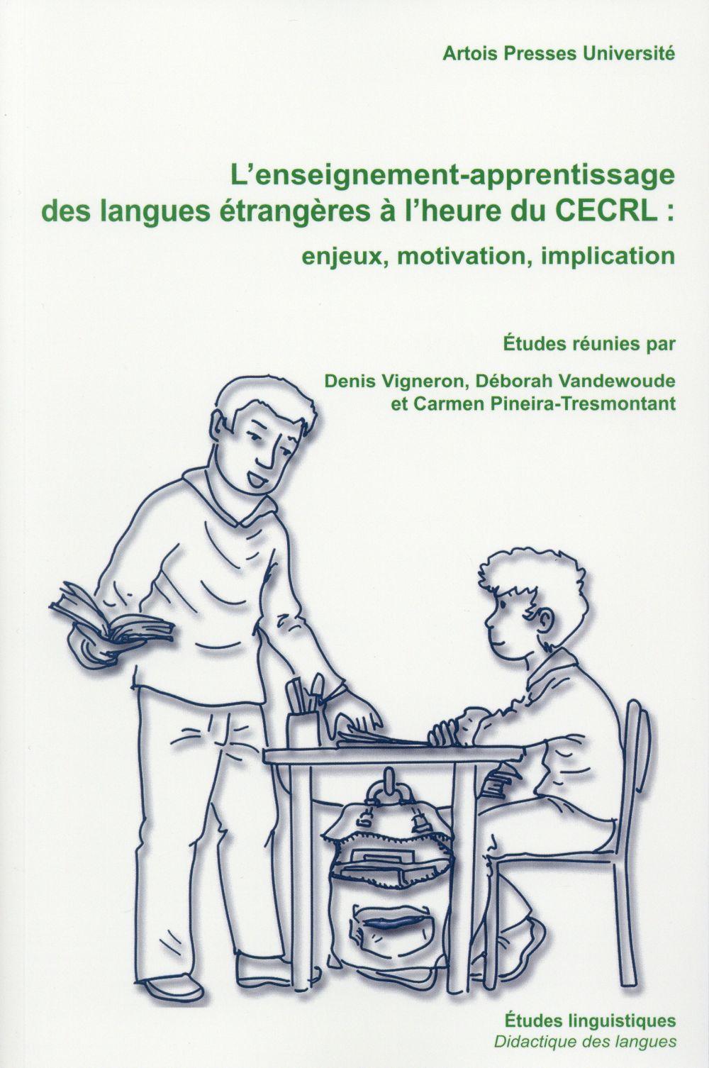 Enseignement apprentissage des langues etrangeres a l heure du cecrl