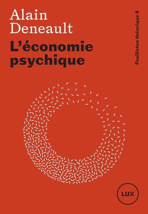 L economie psychique - feuilleton theorique 4