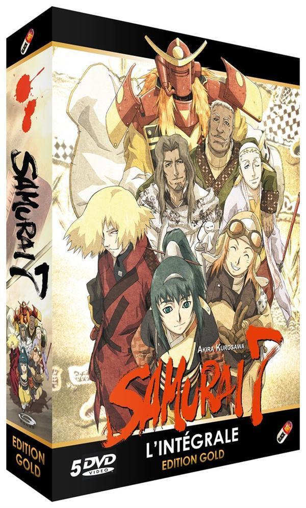coffret intégrale samurai 7
