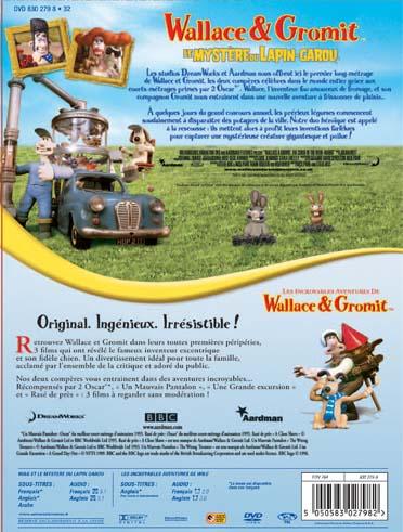 Wallace et Gromit - Le mystère du lapin-garou + Les incroyables aventures de Wallace & Gromit
