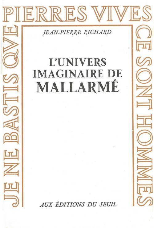 Univers imaginaire de mallarme (l')