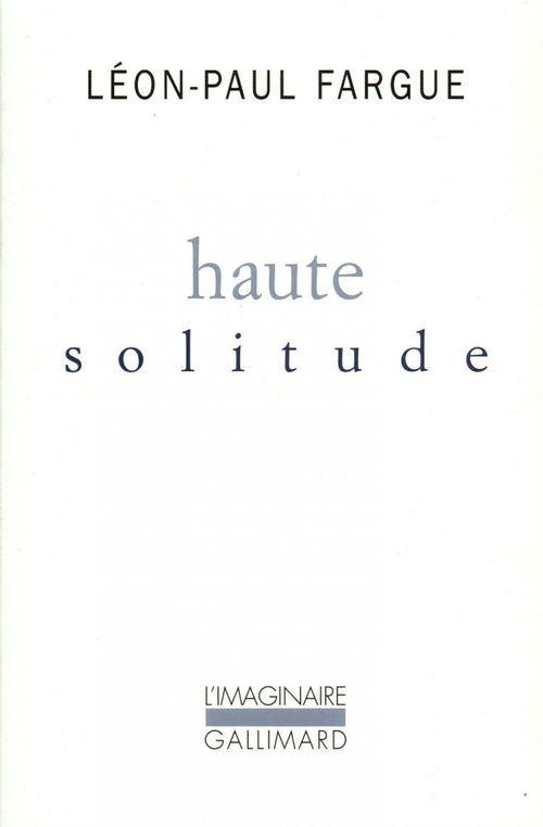 Haute solitude