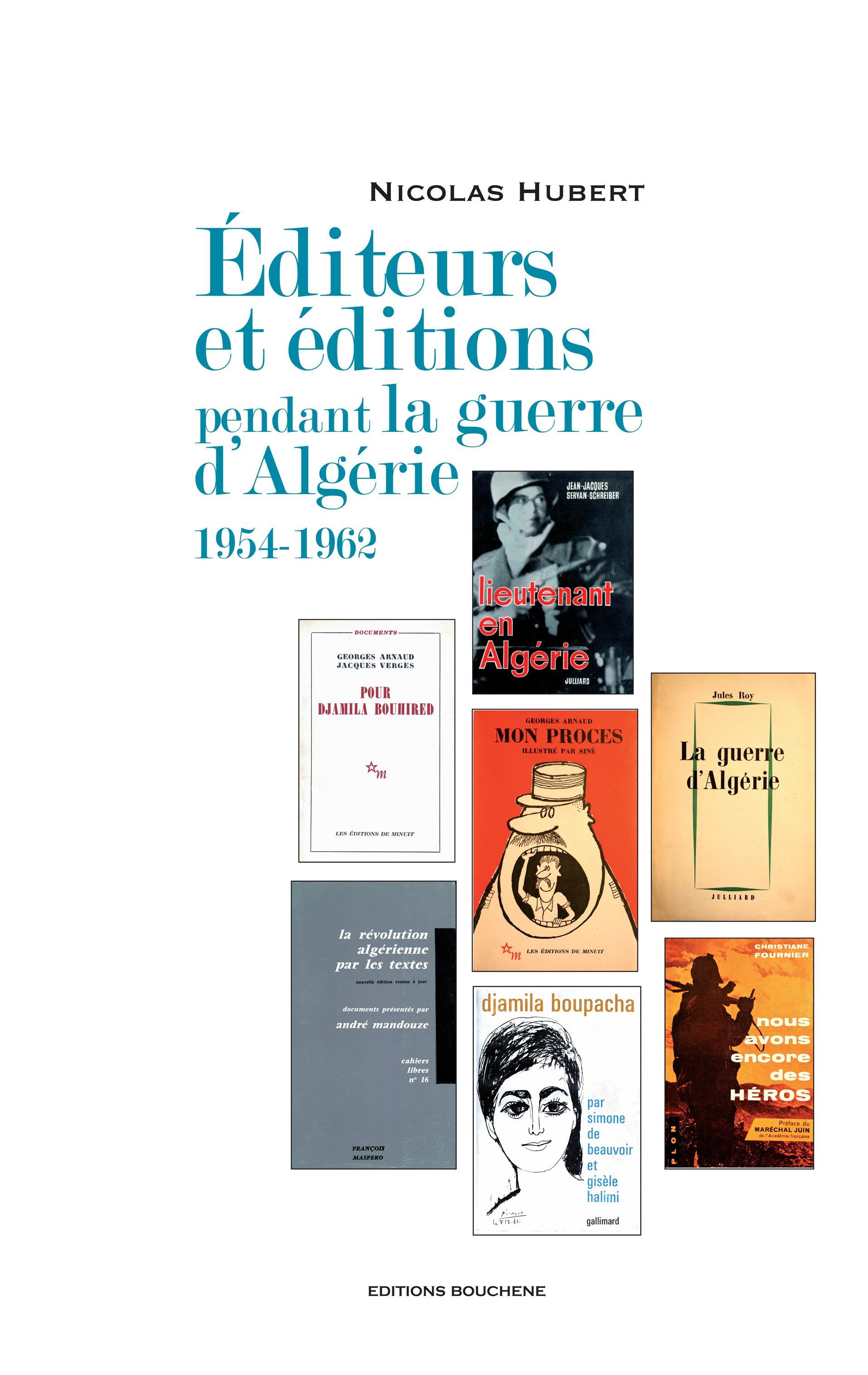 éditeurs et éditions pendant la guerre d'Algérie ; 1954-1962