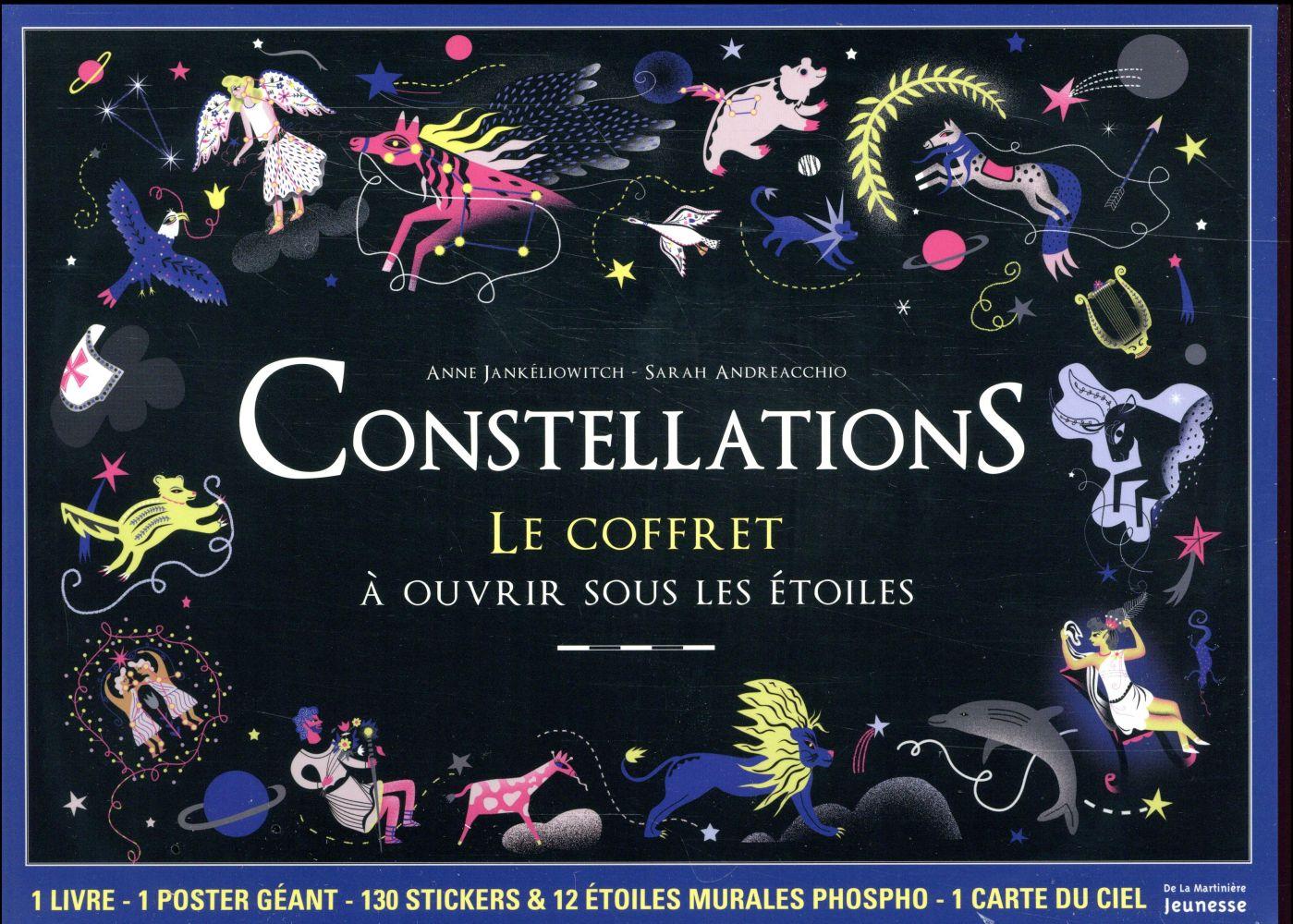 Constellations ; le coffret à ouvrir sous les étoiles