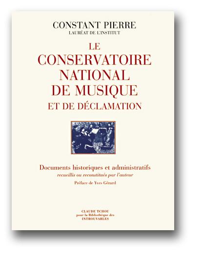 Le conservatoire national de musique et de declamation