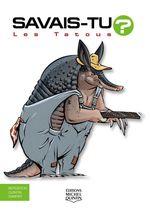 Vente Livre Numérique : SAVAIS-TU ? T.66 ; les tatous  - Alain M. Bergeron - Sampar - Michel Quintin