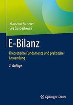 E-Bilanz  - Eva Cunderlikova - Klaus Von Sicherer