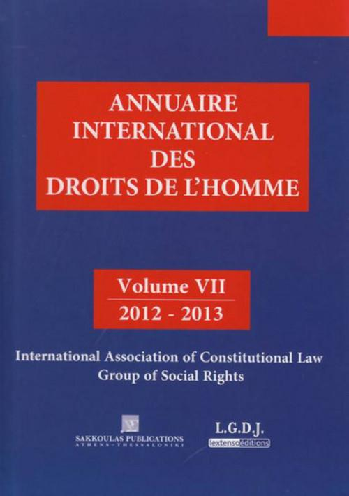 Annuaire international des droits de l'homme t.7 ; 2012-2013
