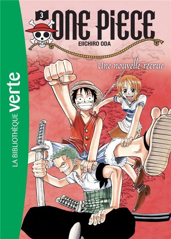 One Piece T.3 ; une nouvelle recrue