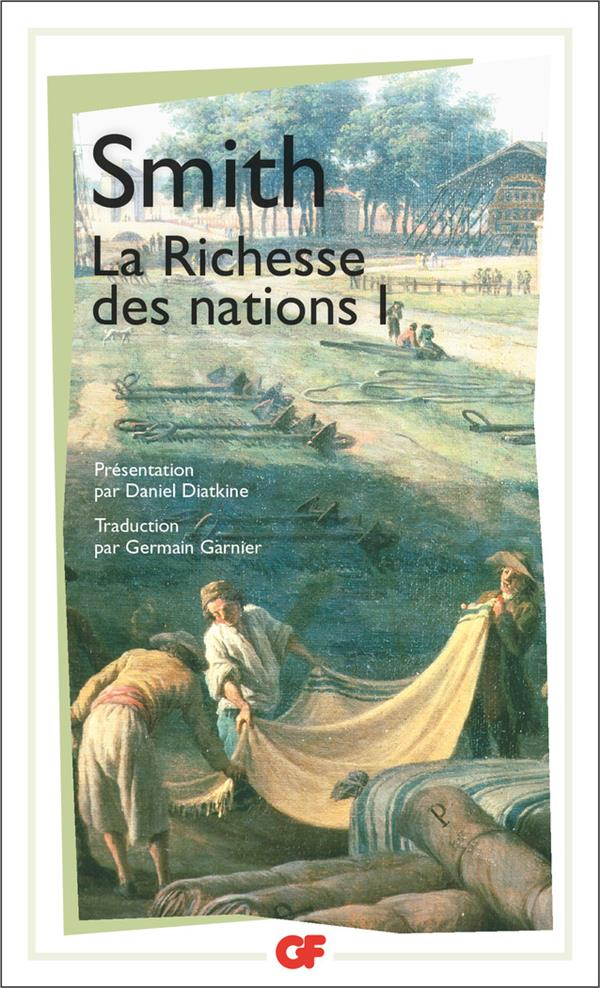 La richesse des nations  t.1