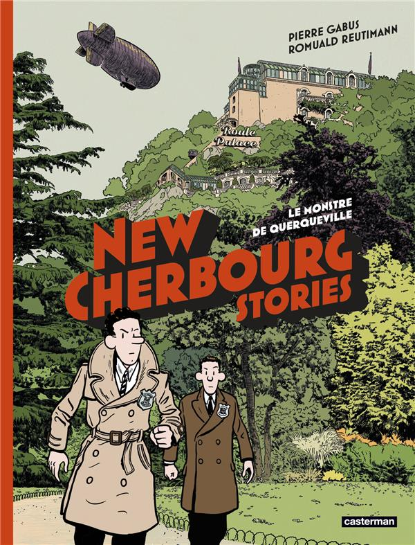 New cherbourg stories t.1 ; le monstre de Querqueville