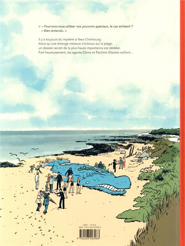 New Cherbourg stories T.1 ; le monstre de Querqueville