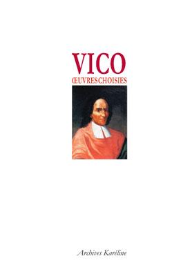 Vico ; oeuvres choisies