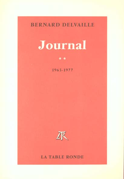 Journal (tome 2-1963-1977)