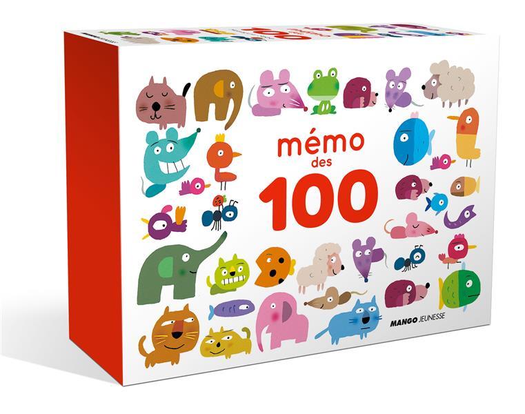 Mémo des 100 ; boîte de jeu memory