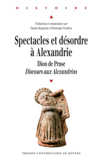 Spectacles et desordres a alexandrie  - Christophe Vendries - Dimitri Kasprzyk