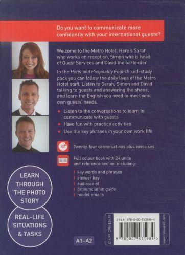 Hotel & hospitality english - book + 2 audio cds / a1-a2