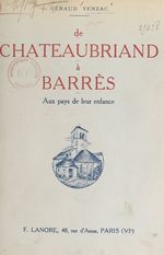 De Chateaubriand à Barrès