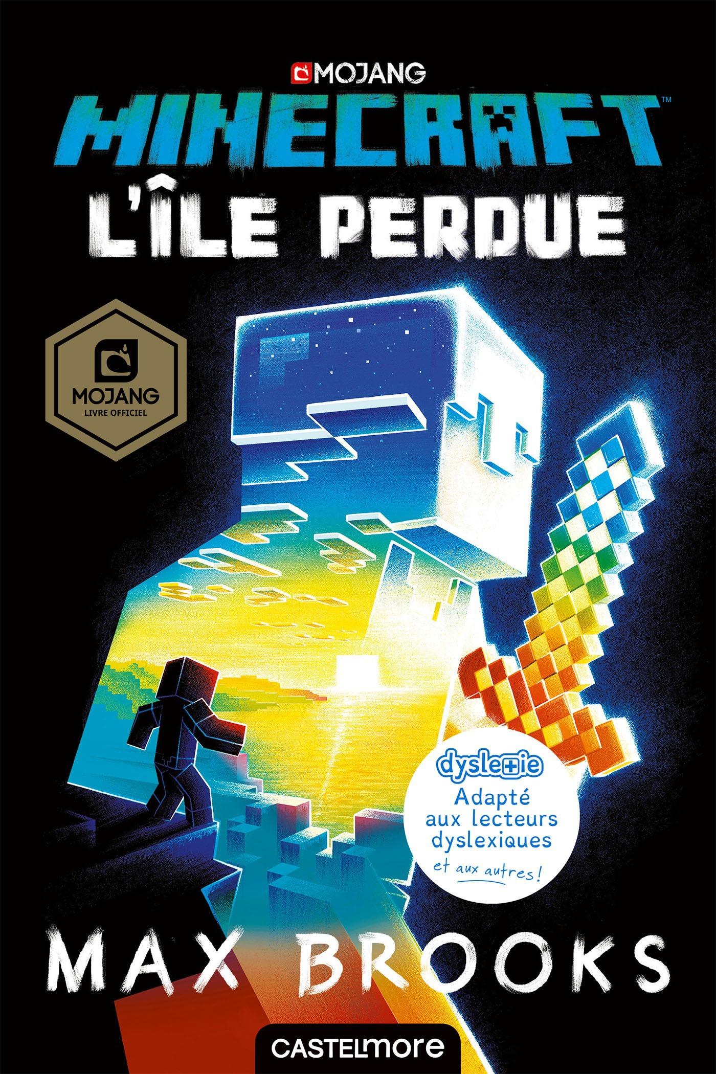 L'île perdue ; le roman officiel Minecraft