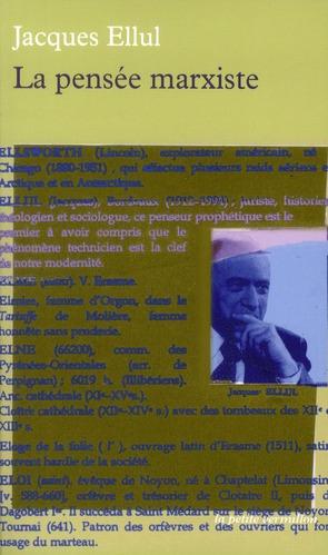 LA PENSEE MARXISTE (COURS PROFESSE A L'INSTITUT D'ETUDES POLITI
