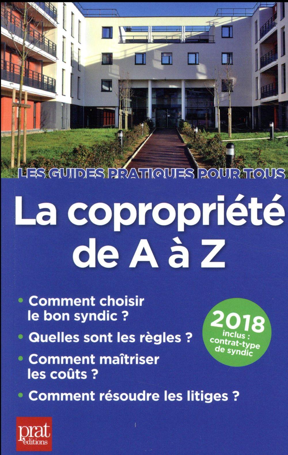 La copropriété de A à Z (édition 2018)