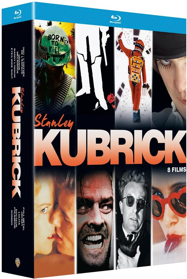 Stanley Kubrick - Coffret : Lolita + Docteur Folamour + Barry Lyndon + Full Metal Jacket + 2001, l'odyssée de l'espace + Orange mécanique + Shining + Eyes Wide Shut