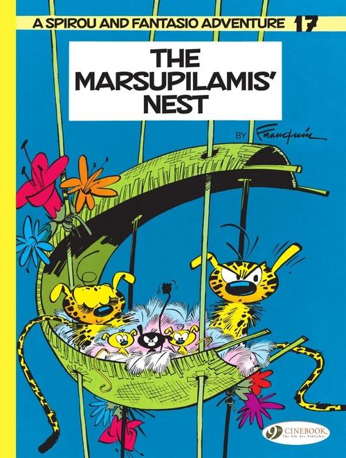 Spirou & Fantasio adventures T.17 ; the marsupilamis' nest