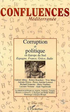 Vente EBooks : Corruption et politique en Europe du Sud  - Bernard RAVENEL