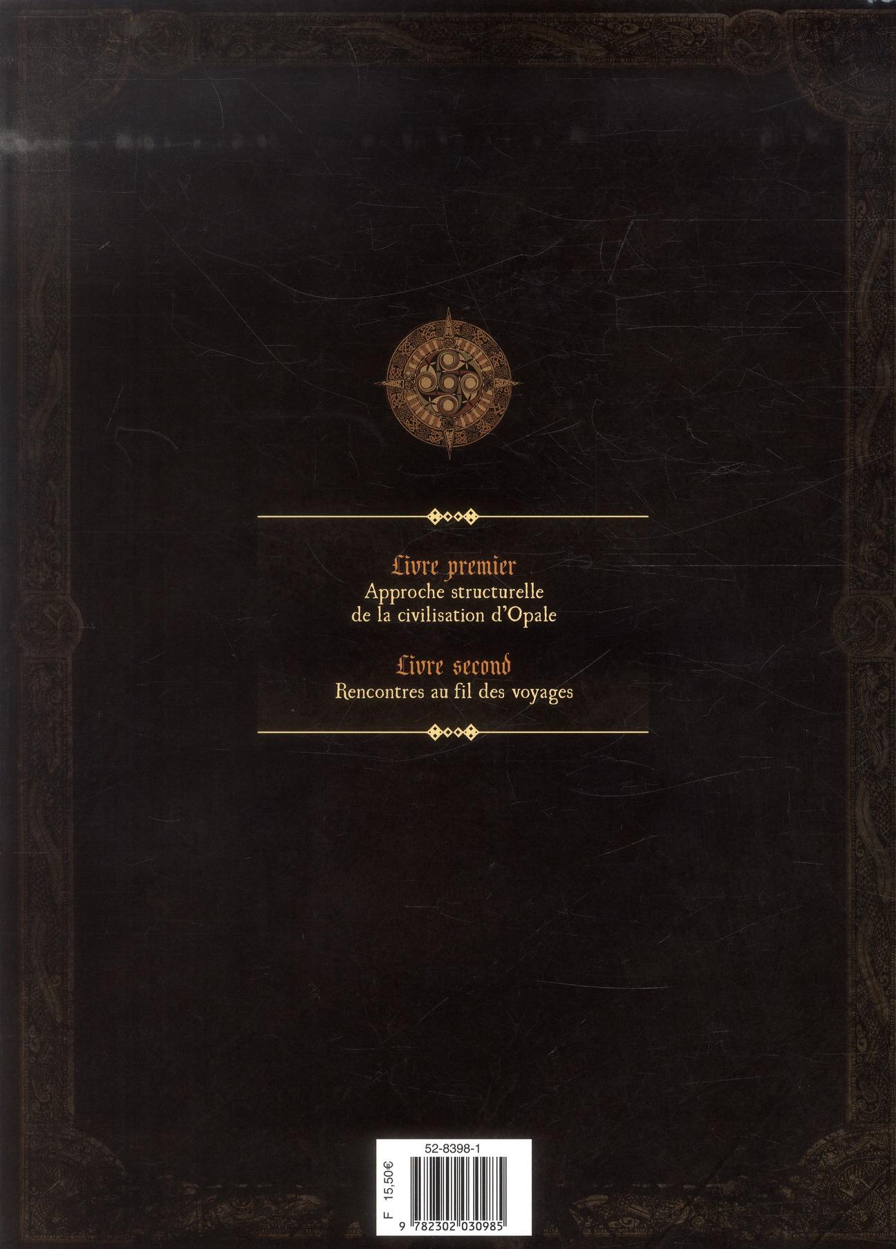 les forêts d'Opale Hors-Série ; le codex d'Opale t.1 ; approche structurelle de la civilisation d'Opale
