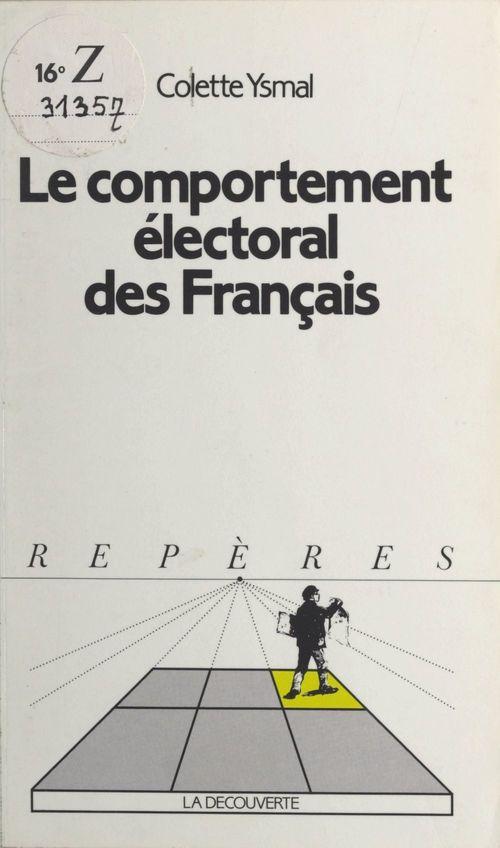 Le comportement électoral des français